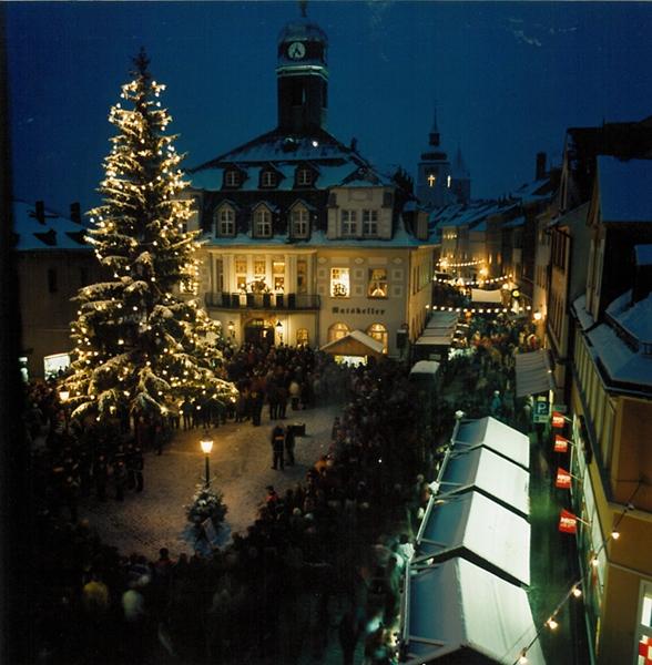Weihnachtsmarkt Schwarzenberg.Weihnachtsmarkt Stadtwerke Schwarzenberg